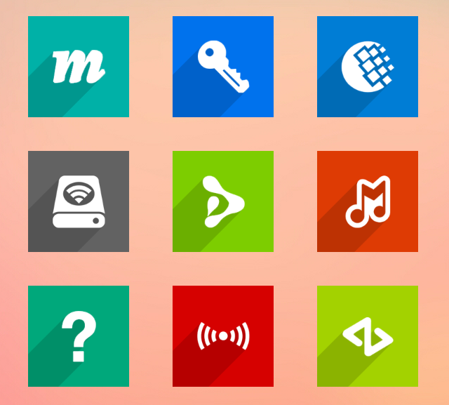 Lista definitiva de Iconos para Launcher