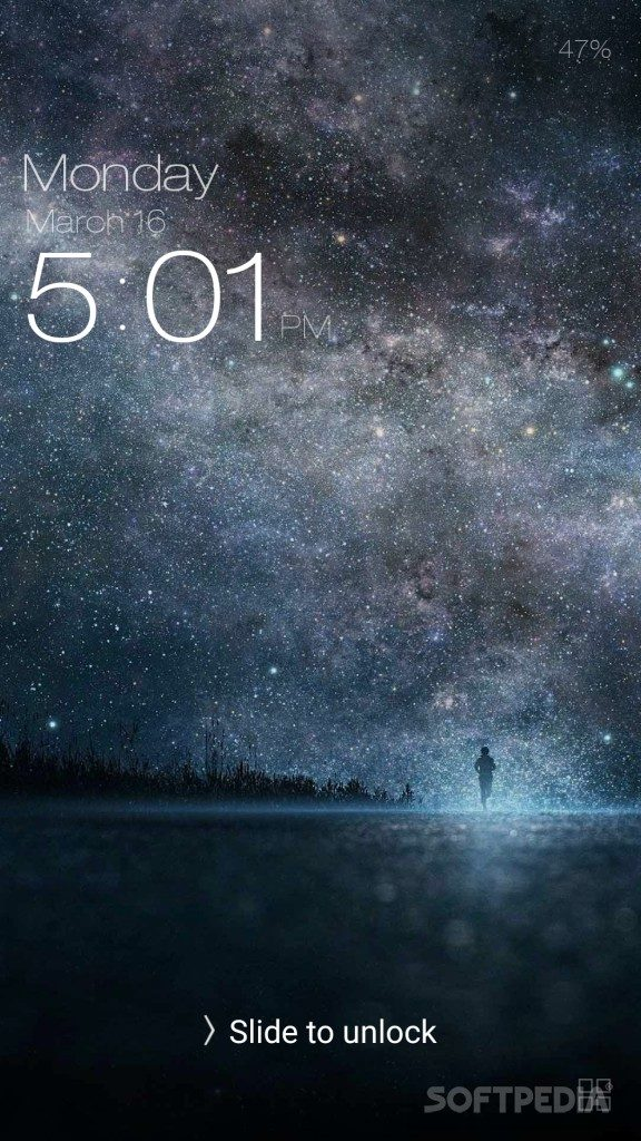 Locks Screen