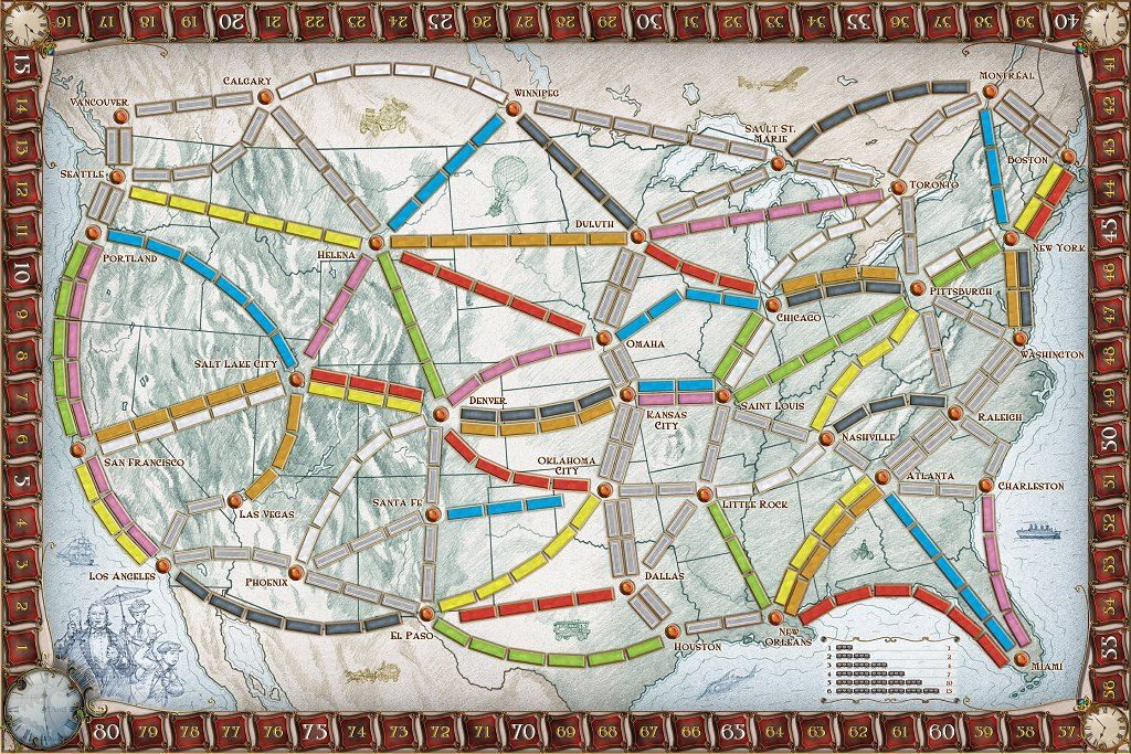 Ticket to Ride Para Chormebook