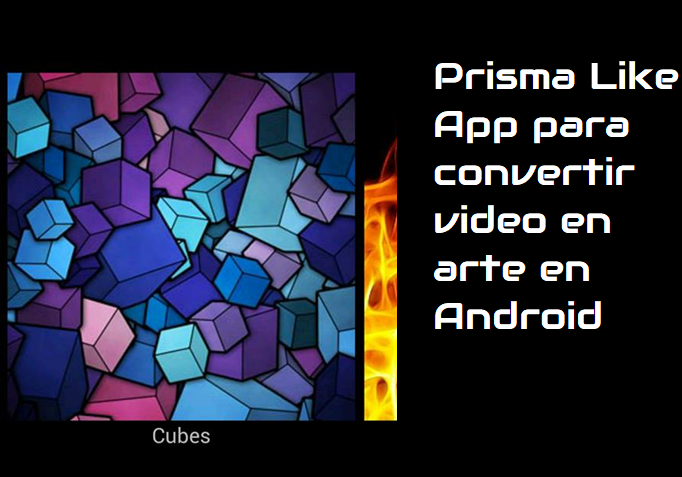 convertir video en arte en Android