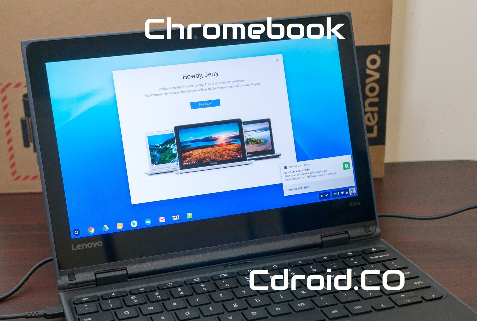 La seguridad de Chromebook