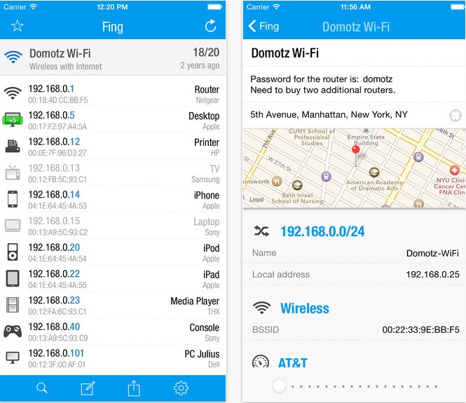 Como encontrar dispositivos conectados al WiFi usando【 Android y Iphone 】