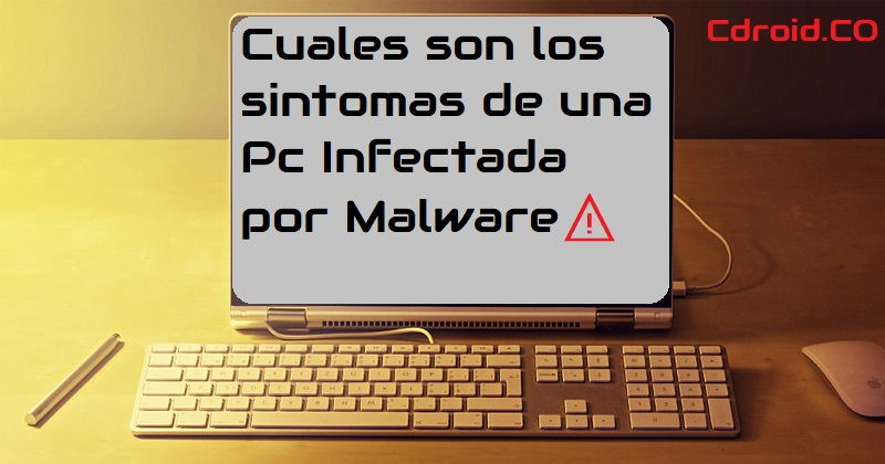 Síntomas de una infección por malware en su PC con Windows