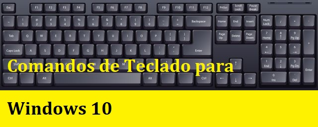 Comandos de teclado para windows