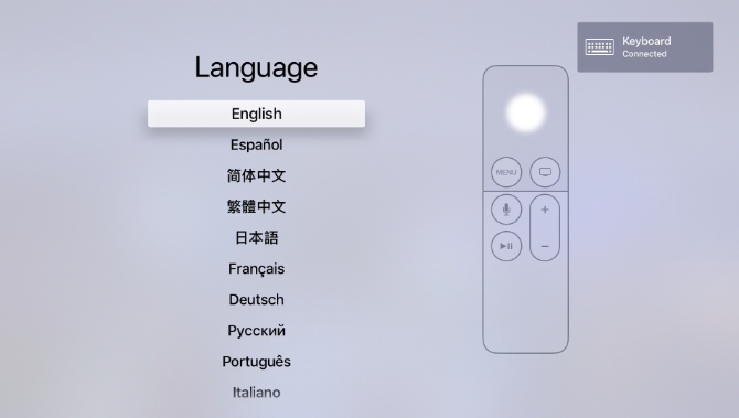 Usando otro control remoto en un Apple TV