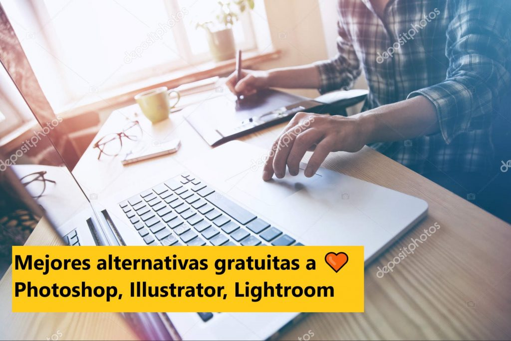 Mejores alternativas gratuitas a Photoshop, Illustrator, Lightroom