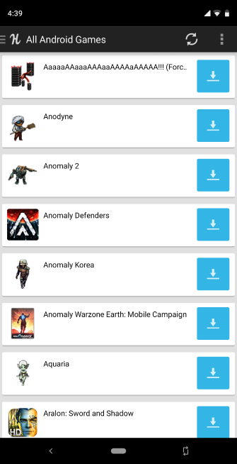alternativas de Google Play para descargar aplicaciones de Android