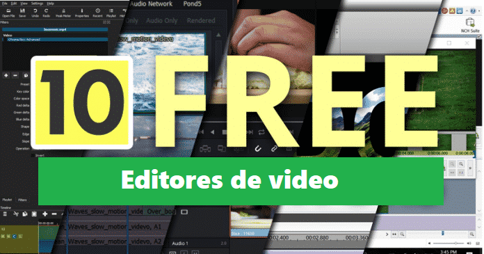 Mejores editores de video gratuitos para Windows