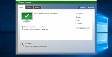 Cómo desactivar el AntiVirus Windows defender de Windows 10